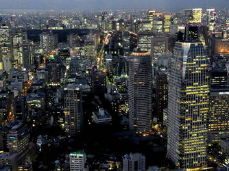 STOCK TOKYO NIGHT VIEW JAPAN NO:010060001 by hirolus