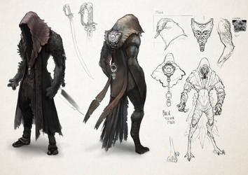 Eragon - The Ra'zac by smilinweapon