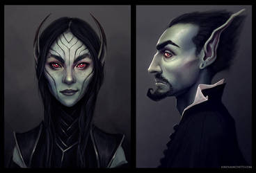 The Elves by smilinweapon
