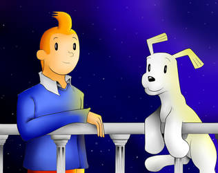 Milu Y Tintin by SelvaDS