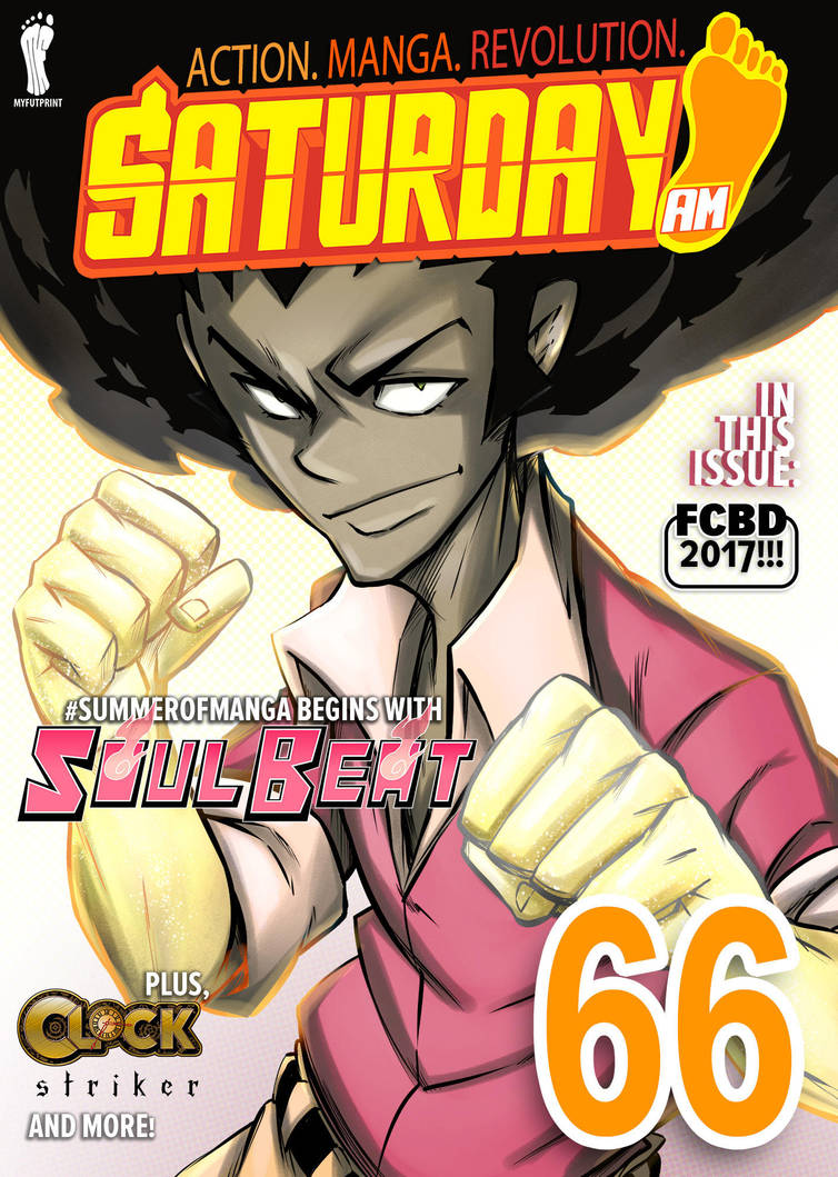 SATURDAY-AM COVER// ISSUE 66 (FINAL) by SoulBeatManga