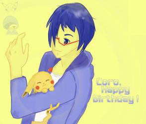 Happy Birthday Coro by noragmon