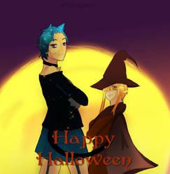 Happy Halloween by noragmon