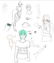 sketch dump by noragmon