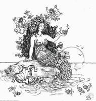My First Mermaid by ValerieJoyLauria