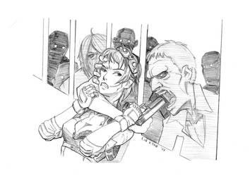 Zombie Rush by hikarikun