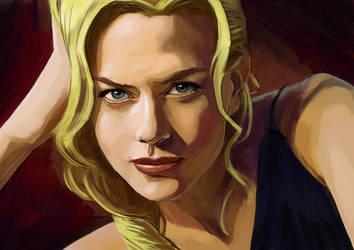 Nicole Kidman by hikarikun