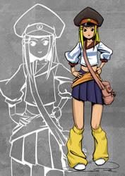 Hero : Mei by hikarikun