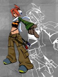Hero : Fizzle by hikarikun