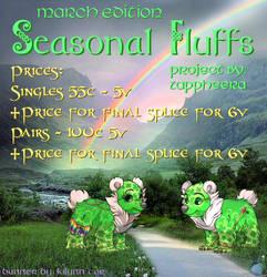 SeasonalFluffs March Banner Main by KilynnTor