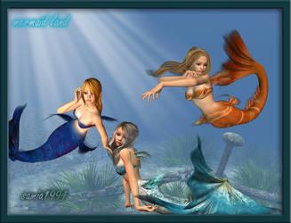 Mermaid Land by samia1994