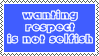 Wanting respect is not selfish by SumacTree