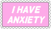 Anxiety stamp by SumacTree