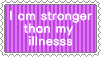 I am stronger than my illness by SumacTree