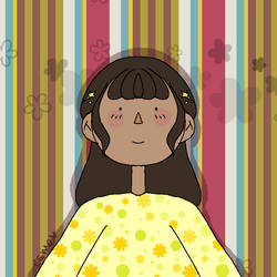 Stripes and Flowers by saranghaesme