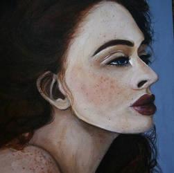 Freckles close up by saranghaesme