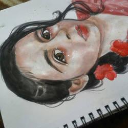 Self portrait by saranghaesme