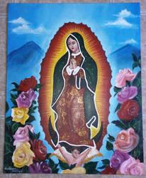 Virgen de Guadalupe by saranghaesme