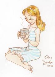Mug of coffee in the AM by alohalilo