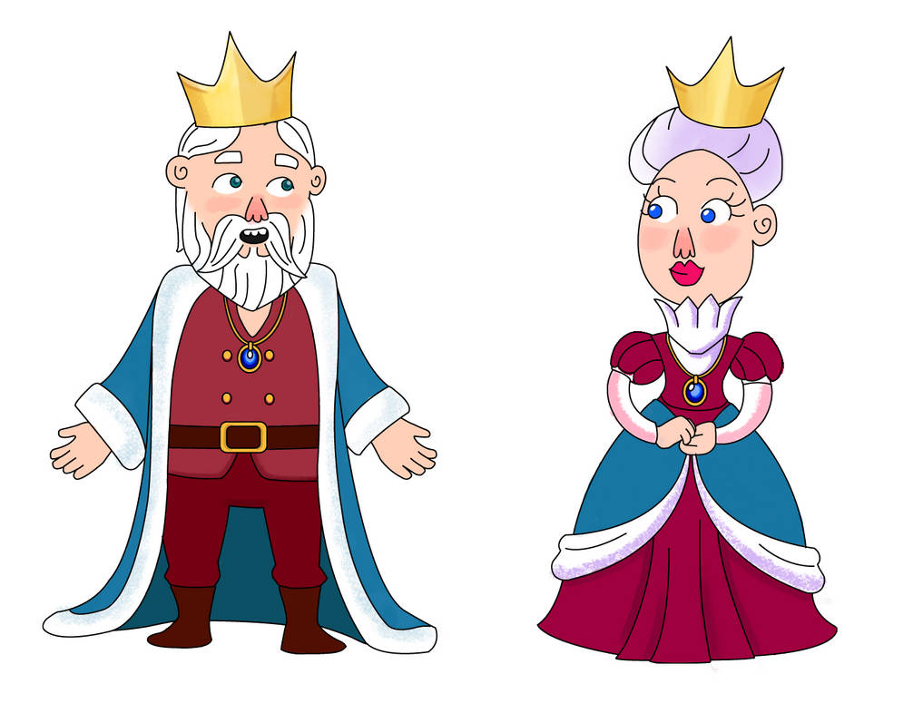 King and Queen by Shipahn