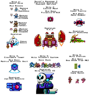Quint's Revenge 2: Wily Boss Concepts (Spoilers!) by ACE-Spark