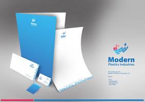 Modern Plastics Logo by SpanishEyzzz