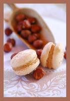 Hazelnut macarons by lotusleaf
