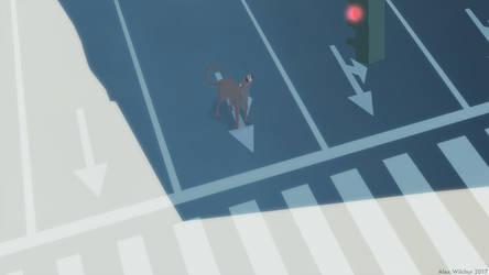 No Traffic by Wilchur