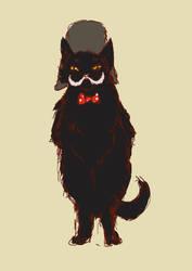 Behemoth the Cat by Wilchur