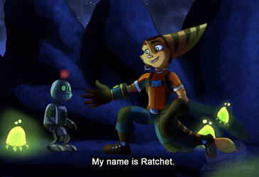 My name is Ratchet (redo) by JinxytheLombax