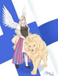 Suomi-100 by Keymii-tan