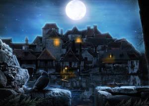 Secret Village by 0-Maryo-0