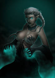 Necromancer by JankaLo