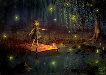 Fireflies by jerry8448