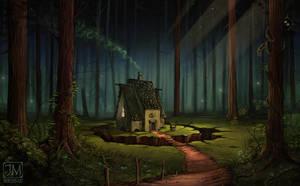 The Alchemist's Hut by jerry8448