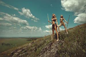 Amazons by Sukhovey