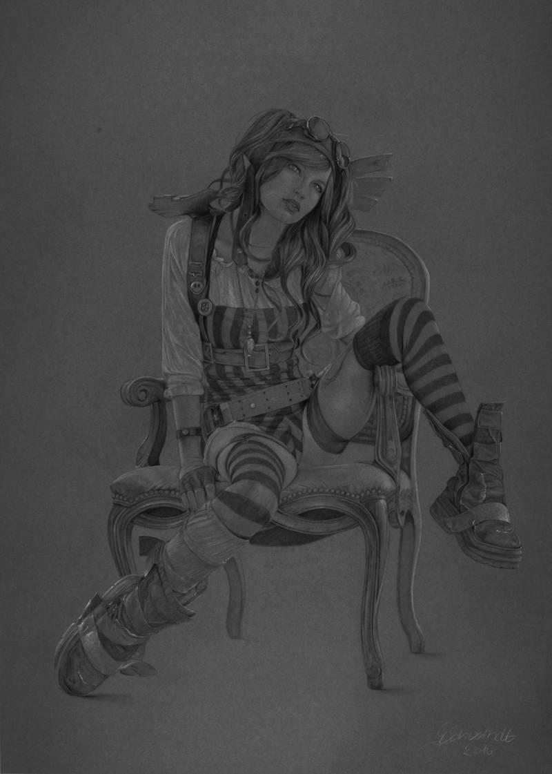 Steampunk Rin by gschwindt