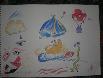 Ink Colour test draw. by RainbowSelfHelpCafe