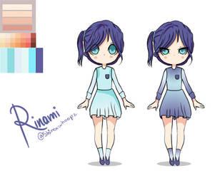 Rinami Mayuko Reference Sheet by Skylar-Arts