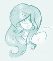 Solomia Sketch by Skylar-Arts