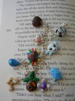 Majoras mask charm bracelet for sale by JenniferSlattery