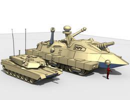 miniOgreII Abrams Line001 by NyrathWiz