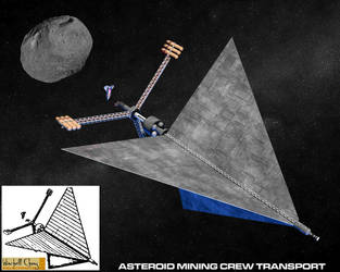 AsteroidMiningCrewTransport by NyrathWiz