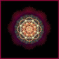Digital Mandala by Zwartmetaal