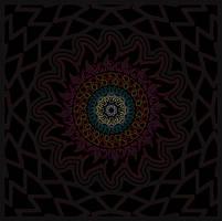 Second Mandala by Zwartmetaal