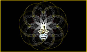 Queen of female geometry by Zwartmetaal