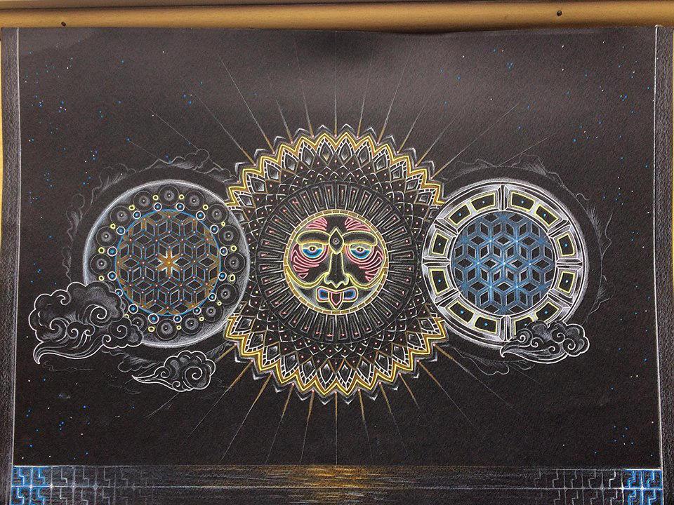 Sunscape by Zwartmetaal