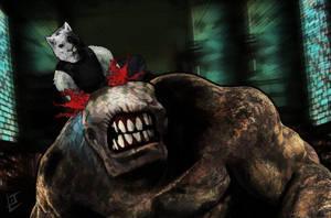 Wolf On Your Back by LemonAndJam