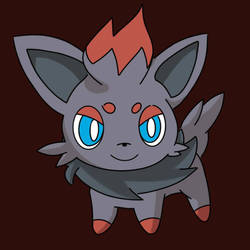 Zorua (Requested) by Soupified