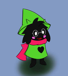 Ralsei time by Soupified